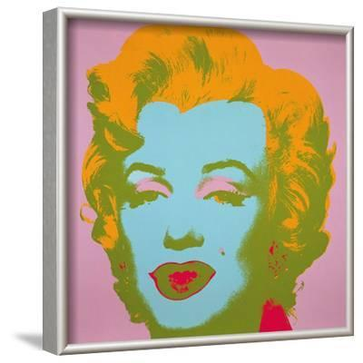 Marilyn Monroe, 1967 (pale pink) by Andy Warhol