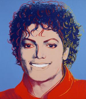 Michael Jackson, 1984 by Andy Warhol