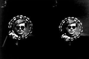Double Tambourine, circa 1966 by Andy Warhol/ Nat Finkelstein