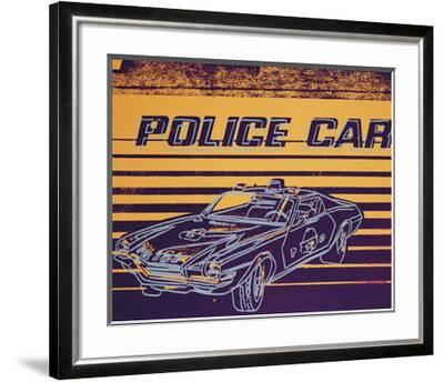 Police Car, c.1983 by Andy Warhol