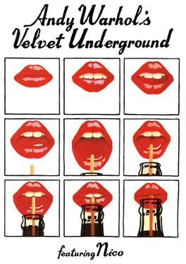 Andy Warhol's Velvet Underground Featuring Nico Music Poster
