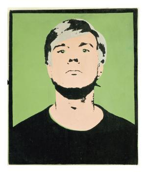 Self-Portrait, 1964 (on green) by Andy Warhol