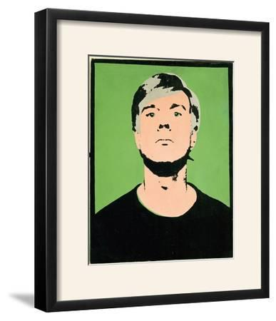 Self-Portrait, c.1964 (on green) by Andy Warhol