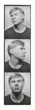Self-Portrait, c.1964 (photobooth pictures) by Andy Warhol