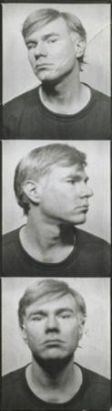 Self-Portrait, c. 1964 (photobooth pictures) by Andy Warhol