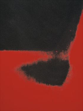 Shadows II, 1979 (red) by Andy Warhol