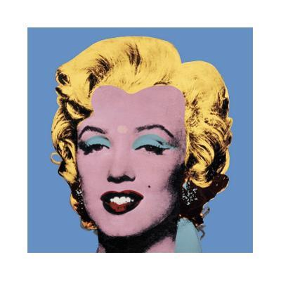 Shot Blue Marilyn, 1964 by Andy Warhol