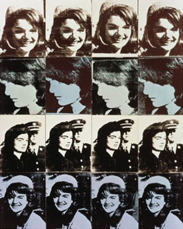 Sixteen Jackies, 1964 by Andy Warhol