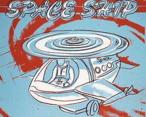 Space Ship, c.1983 by Andy Warhol