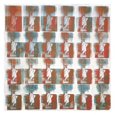 Statue of Liberty, 1962 by Andy Warhol