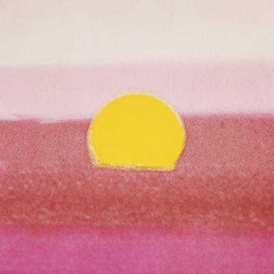 Sunset, 1972 (pink) by Andy Warhol