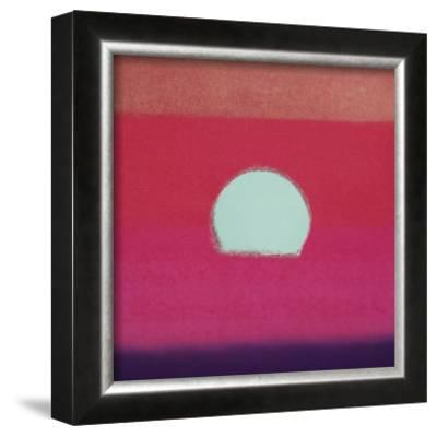 Sunset, c.1972 (hot pink, purple, red, blue) by Andy Warhol