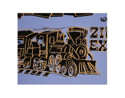 Train, 1983 by Andy Warhol