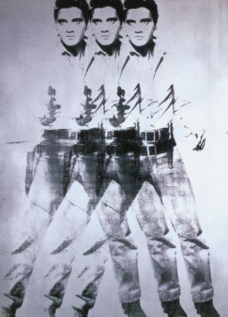 Triple Elvis, 1963 by Andy Warhol