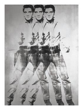 Triple Elvis®, 1963 by Andy Warhol