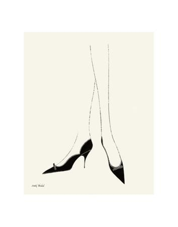 Untitled (Pair of Legs in High Heels), c. 1958 by Andy Warhol