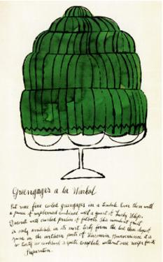 Wild Raspberries, c.1959  (green) by Andy Warhol