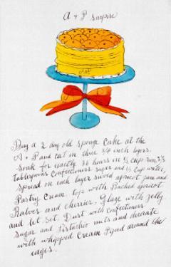 Wild Raspberries, c.1959  (orange and yellow) by Andy Warhol