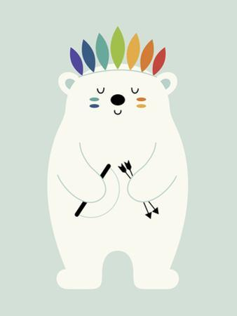Be Brave Polar by Andy Westface
