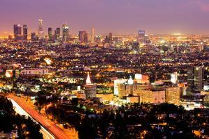 Los Angeles at Night by Andy777