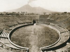 Anfiteatro, Pompeii, Italy, C1900s