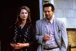 ANGEL HEART, 1987 directed by ALAN PARKER Charlotte Rampling and Mickey Rourke (photo)