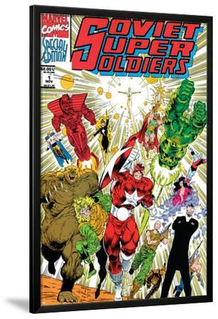 Soviet Super Soldiers #1 Cover: Red Guardian by Angel Medina