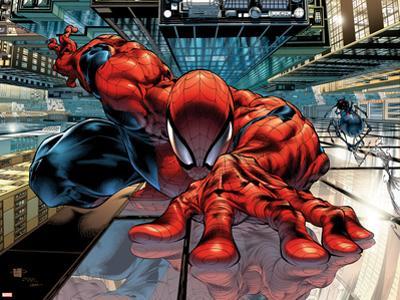 The Sensational Spider-Man No.23 Cover: Spider-Man by Angel Medina
