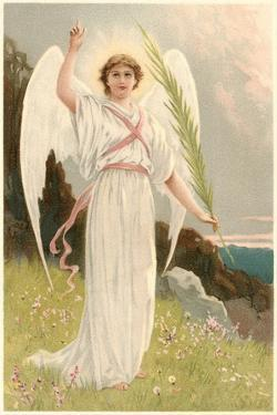 Angel with Palm Frond