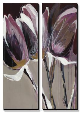 Aubergine Splendor I by Angela Maritz