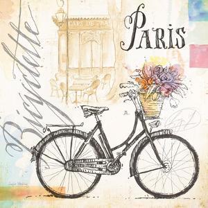 Bicyclette Sketchbook by Angela Staehling