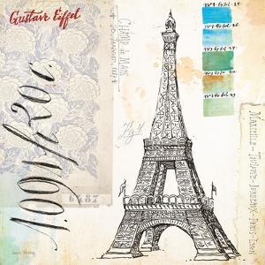 Gustave Eiffel Sketchbook by Angela Staehling