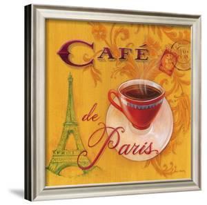 Paris Café by Angela Staehling