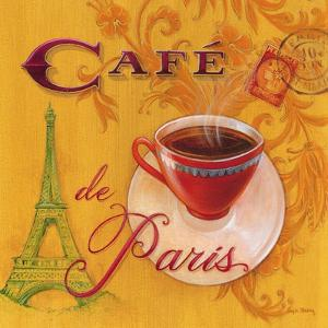 Paris Café by Angela Staehling