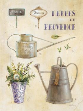 Vintage Garden Poster by Angela Staehling