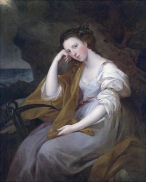 Portrait of Louisa Leveson Gower as Spes (Goddess of Hope) by Angelica Kauffman
