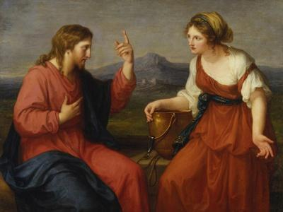Christ and the Samaritan Woman at the Well, 1796