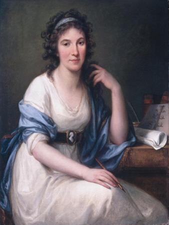 Ellis Cornelia Knight, 1793 by Angelica Kauffmann