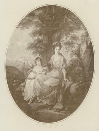 Lady Rushout and Daughter by Angelica Kauffmann