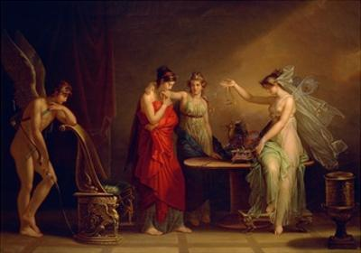 Legend of Cupid and Psyche by Angelica Kauffmann