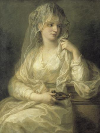 Portrait of a Lady As a Vestal Virgin by Angelica Kauffmann