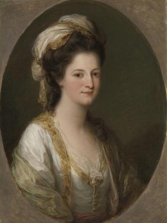 Portrait of a Woman, C.1770 by Angelica Kauffmann