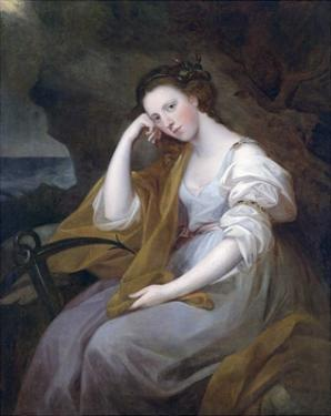 Portrait of Louisa Leveson-Gower as Spes by Angelika Kauffmann