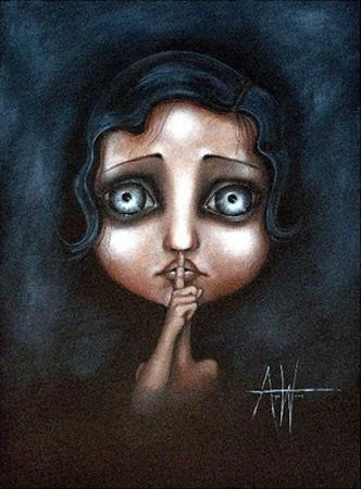 Hush by Angelina Wrona