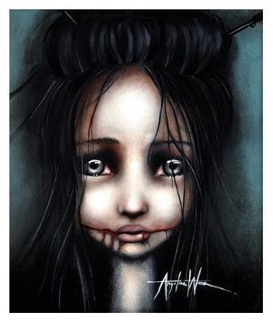 Little Dahlia by Angelina Wrona