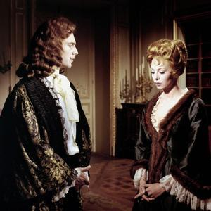 ANGELIQUE and LE ROY, 1965 directed by BERNARD BORDERIE Jacques Toja and Michele Mercier (photo)