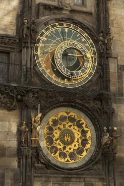 Astronomical Clock, Old Town Hall, Prague, Czech Republic, Europe by Angelo