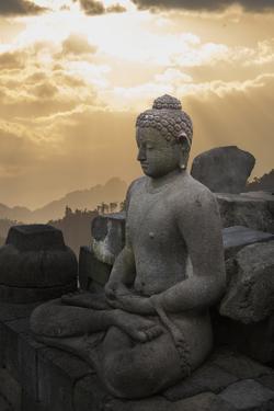 Borobudur Buddhist Temple, UNESCO World Heritage Site, Java, Indonesia, Southeast Asia by Angelo