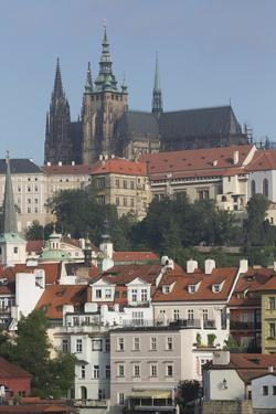 Castle District with St. Vitus Cathedral by Angelo