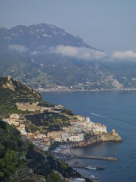 Amalfi Peninsula, Amalfi Coast, UNESCO World Heritage Site, Campania, Italy, Mediterranean, Europe by Angelo Cavalli